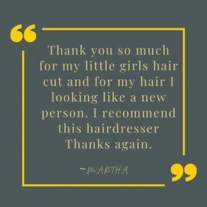 Childrens Hair Cuts, Karen Wright Hair Salon