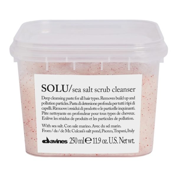 Davines SOLU Salt Scrub