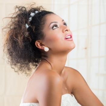 Karen Wright Salon, Bridal Hairstyles For Textured Hair in Croydon